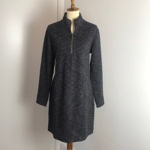 Tommy Bahama Reversible Grey Half Zip Dress